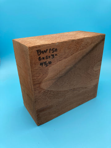"Black Walnut Block BW-150 2.7"" x 5.7"" x 6"""