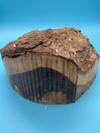 "Texas Ebony Bowl Blank TE-530 7.2"" x 7.5"" x 4"""