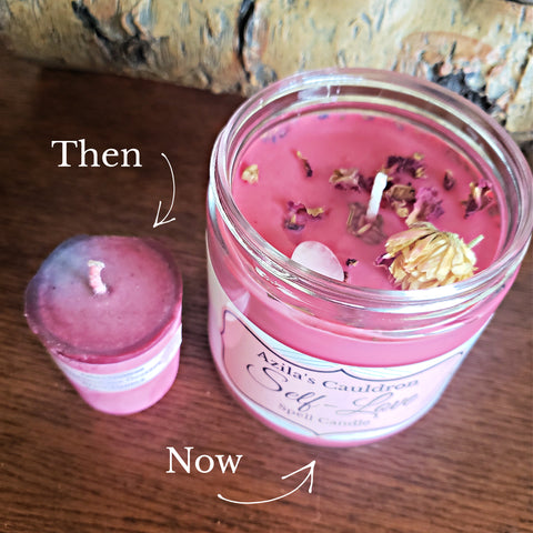 Natural Soy Spell Candle