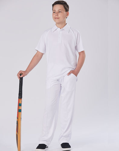 White Cricket Pants Juniors
