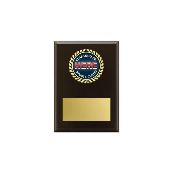 Logo Plaque - Black