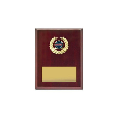 Logo Plaque - Rosewood Gloss