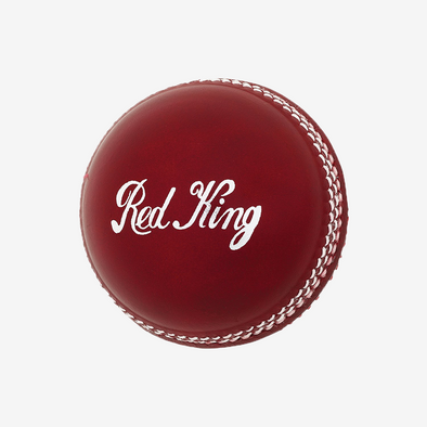 Kookaburra Red King 2 Piece Cricket Ball - Eagle Rise Sports