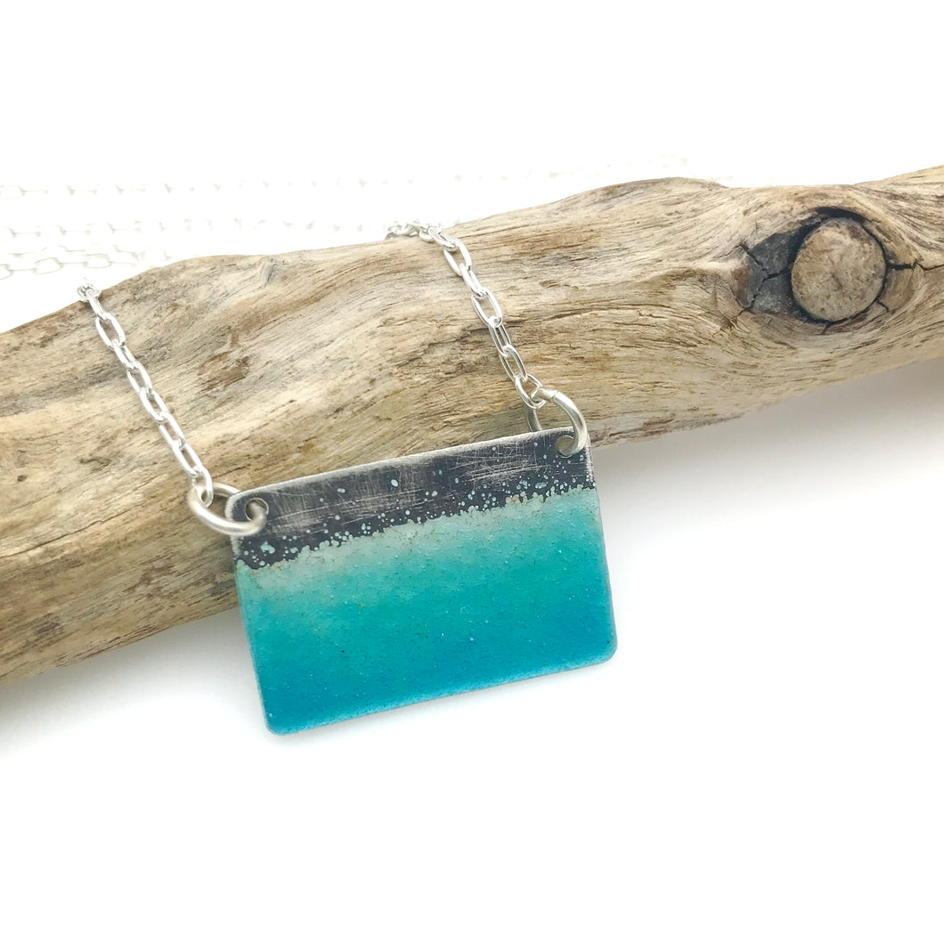 Small Seascape Necklace