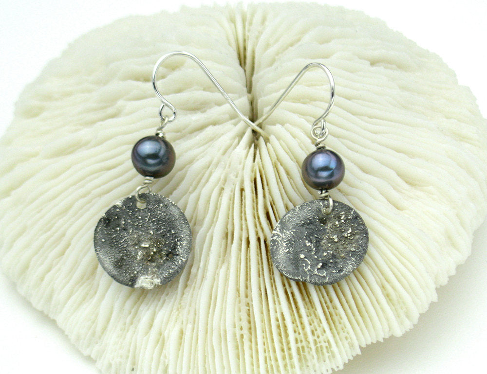 Wabi Sabi Pearl Earrings