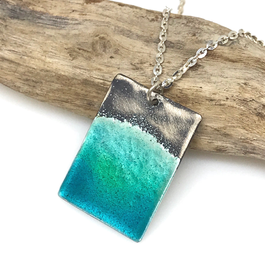 Aqua Ocean Necklace