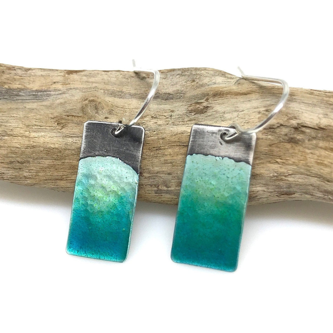 Aqua Ocean Earrings