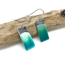Load image into Gallery viewer, Aqua Ocean Earrings