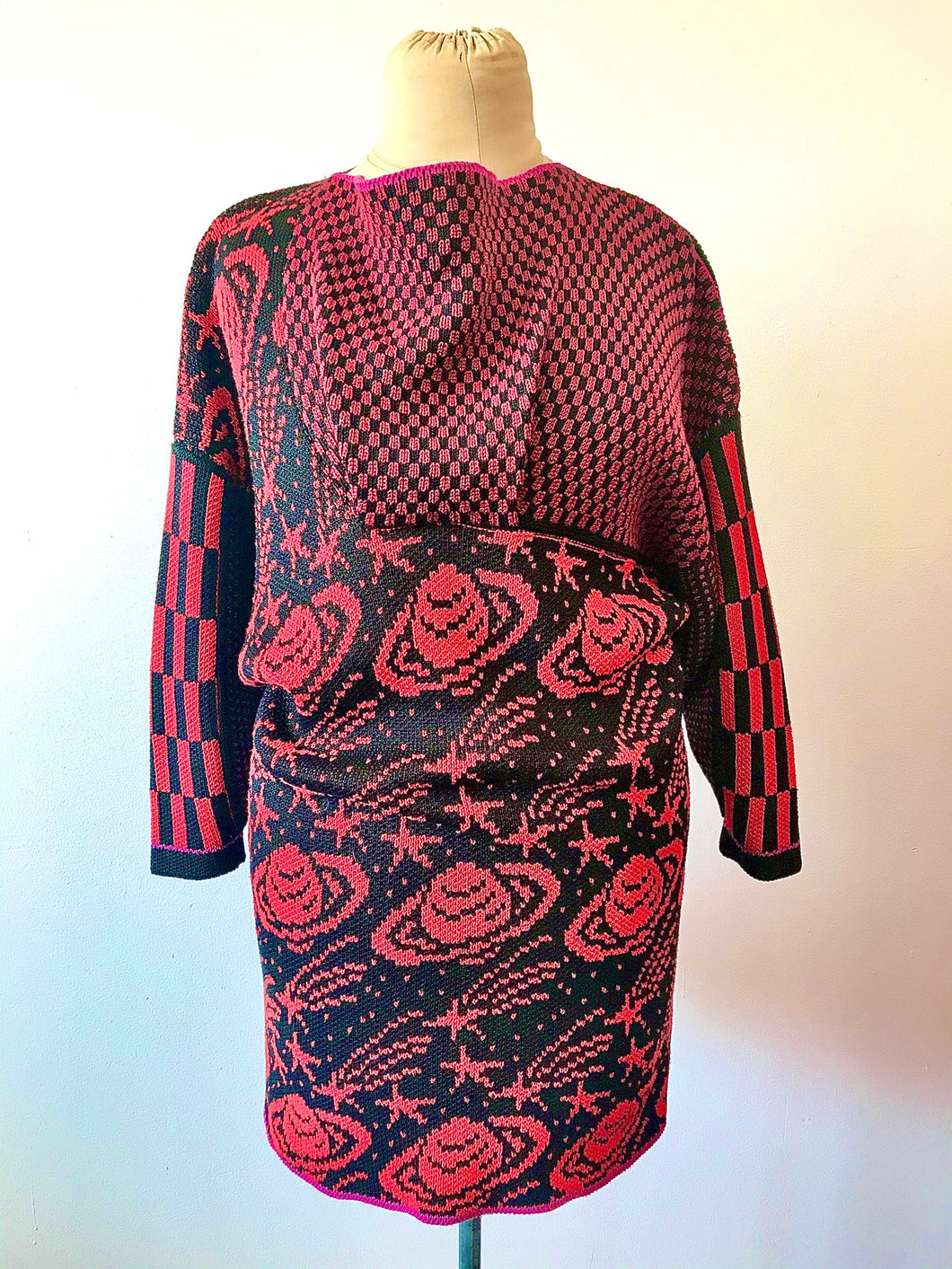 1980's SUMMA Design Planetary Knit Tunic