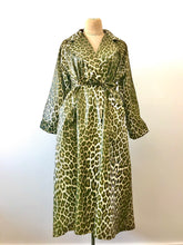 Load image into Gallery viewer, 1980's Leopard Print Trench Coat by Court Royal