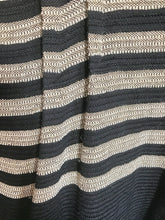 Load image into Gallery viewer, 1980's Striped Avante Garde Kimono Jacket by Laise Adzer