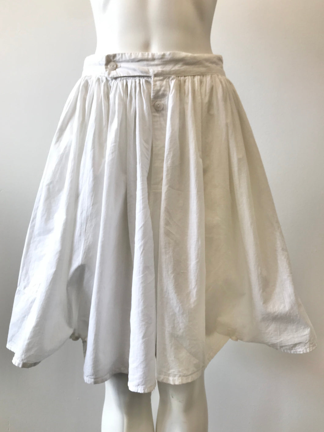 1981 White Pirate Bloomers by World's End Vivienne Westwood & Malcom McLaren