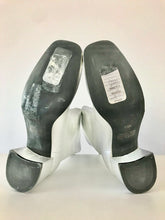 Load image into Gallery viewer, 1990's Silver Leather Go-Go Ankle Boots By BONGO
