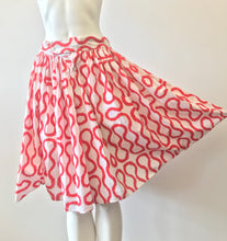 Load image into Gallery viewer, 1981 Red Squiggle Bloomers by World's End Vivienne Westwood & Malcom McLaren