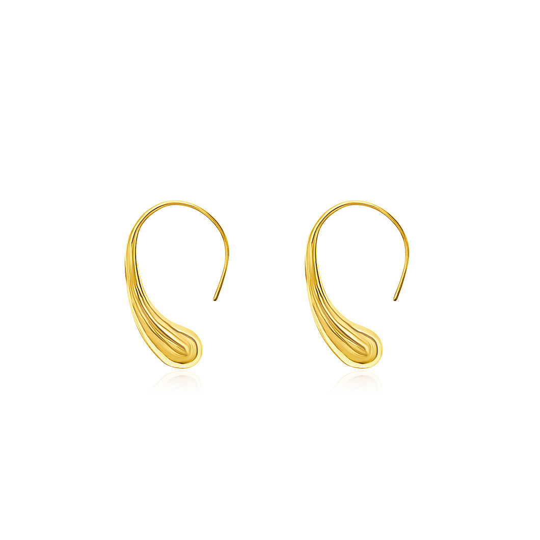 Water Dew Hook Earrings