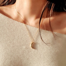 Load image into Gallery viewer, Gentle Moon Necklace