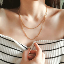 Load image into Gallery viewer, Layered Dainty Beads Necklaces