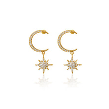 Load image into Gallery viewer, Antares Starburst Earrings