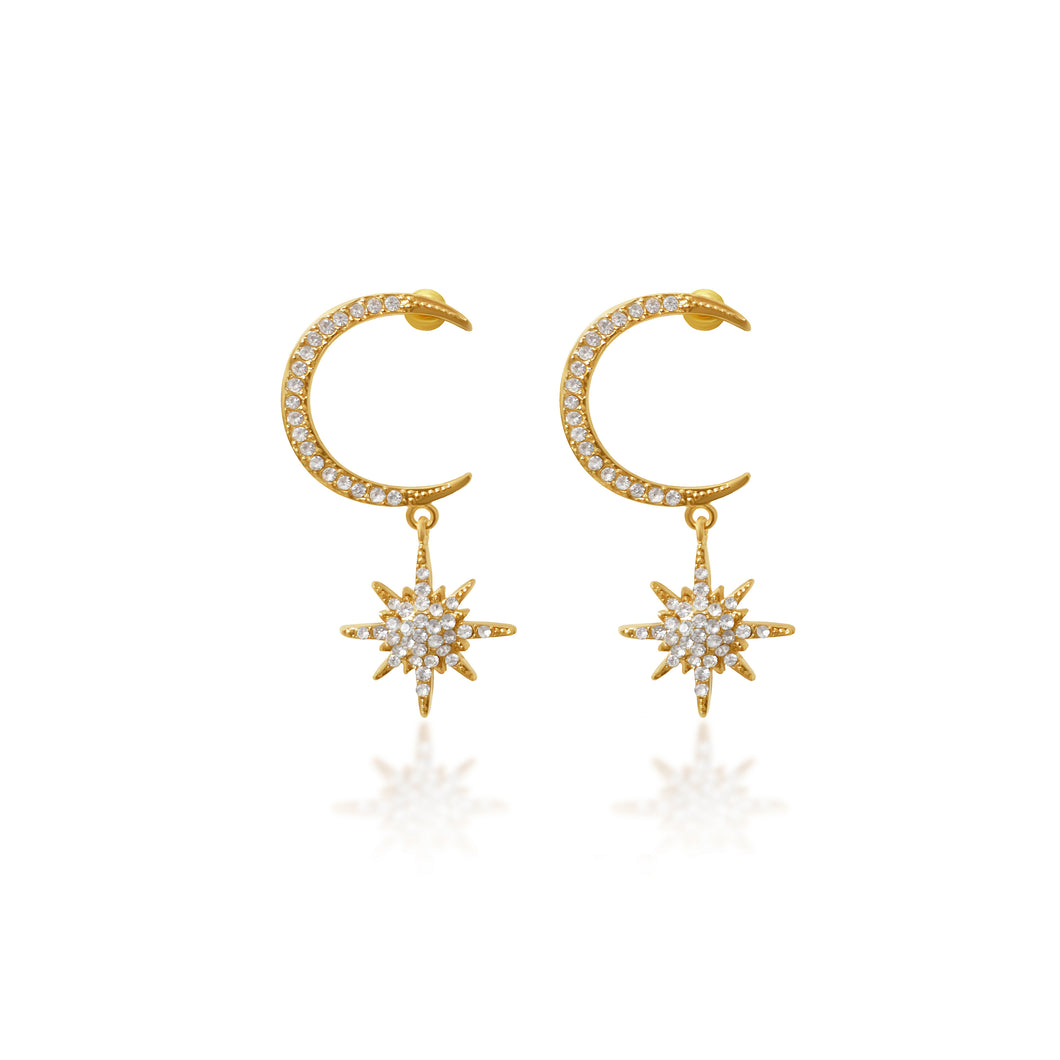 Antares Starburst Earrings