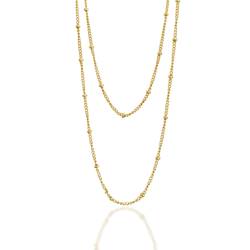 Layered Dainty Beads Necklaces