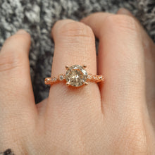Load image into Gallery viewer, Tiara Engagement Ring