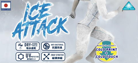 cool your body with Freeze Tech Ice Attack