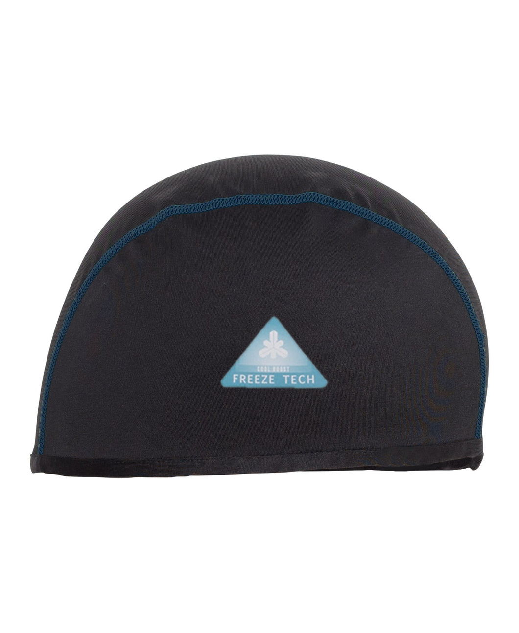 Freeze Tech Cooling Inner Cap, Black- Ice Effect for Hot Weather/ Fast Dry/ AntiOdor / AntiUV
