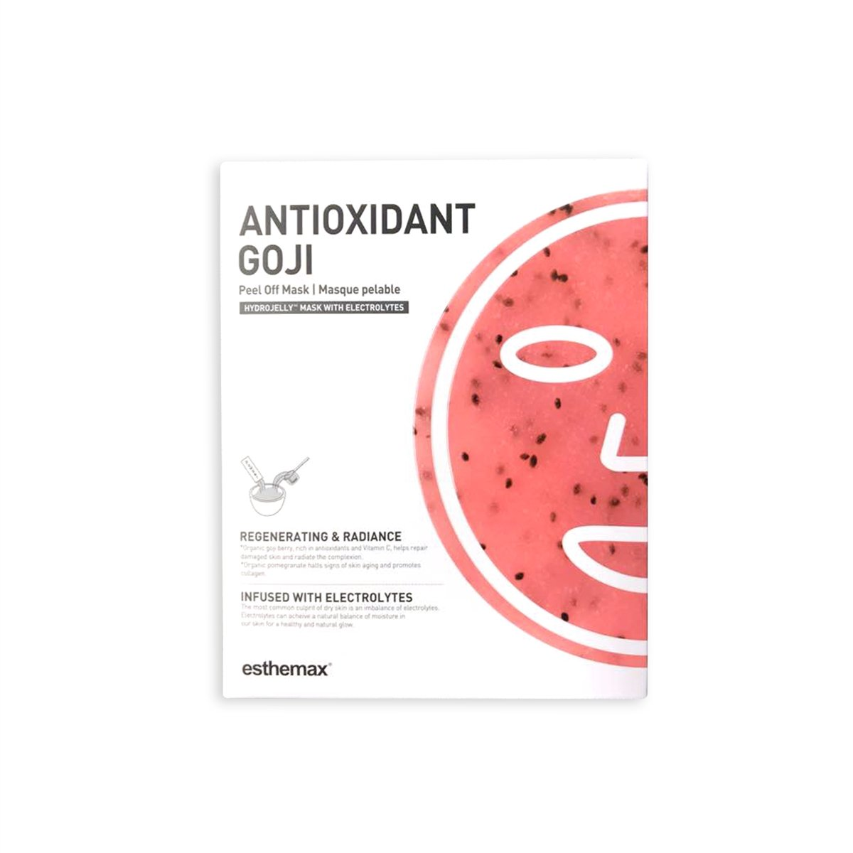 Antioxidant Goji Hydro Jelly Mask packaging