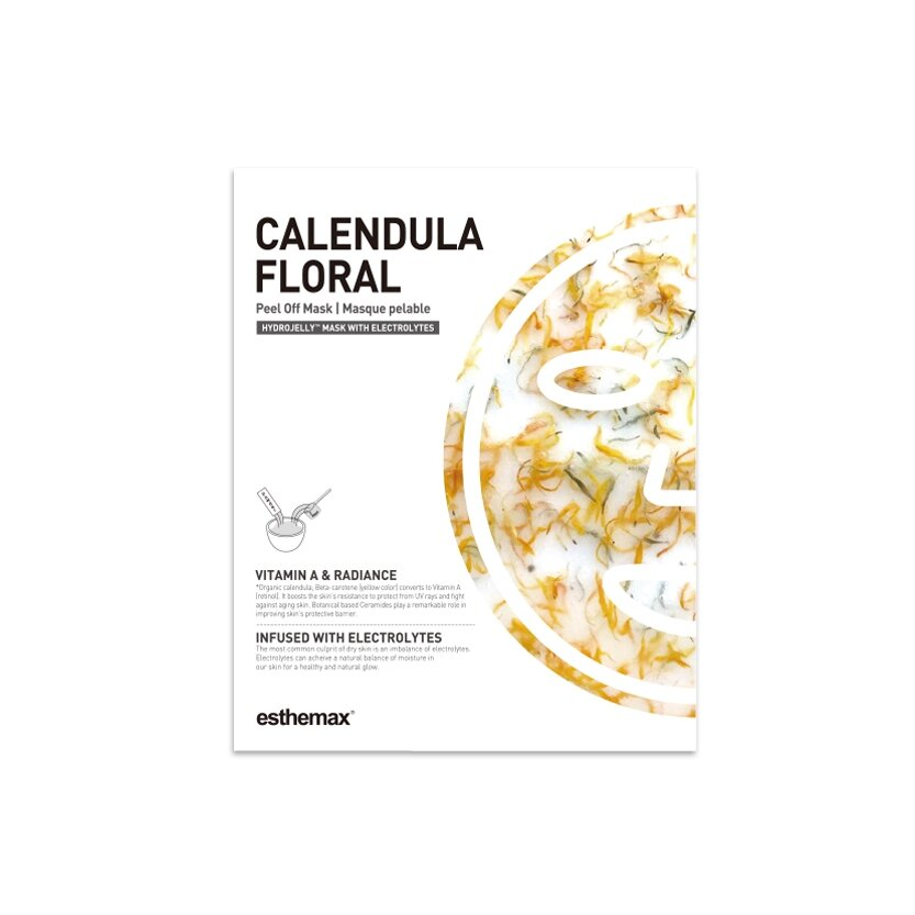 Calendula Floral Jelly Mask packaging