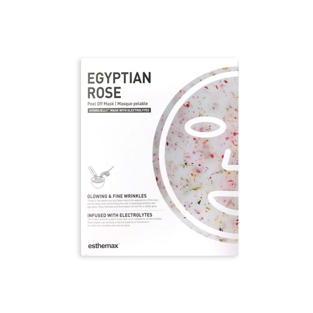 Egyptian Rose Jelly Mask packaging