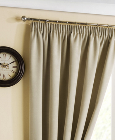 Pencil Pleat/Tape Top Curtains At 4YH Textiles®