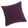 Chenille Spot Purple Textured Cushion Cover - CLEARANCE PRICE