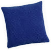 Chenille Spot Blue Textured Cushion Cover - CLEARANCE PRICE