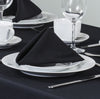 Essentials Easycare Black Tablecloths And Accessories
