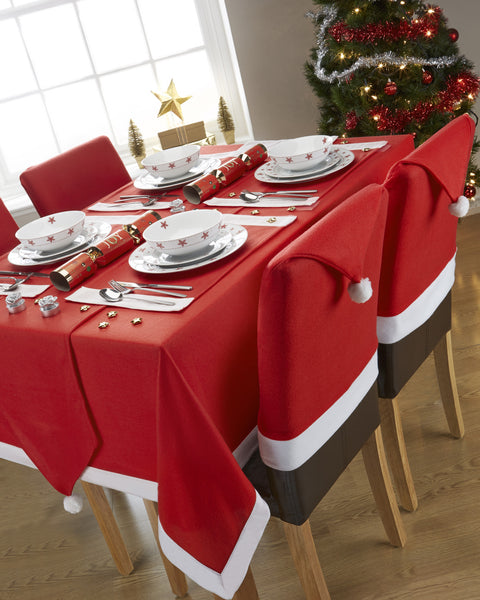 Santa's Table Christmas/Xmas Tablecloths And Accessories