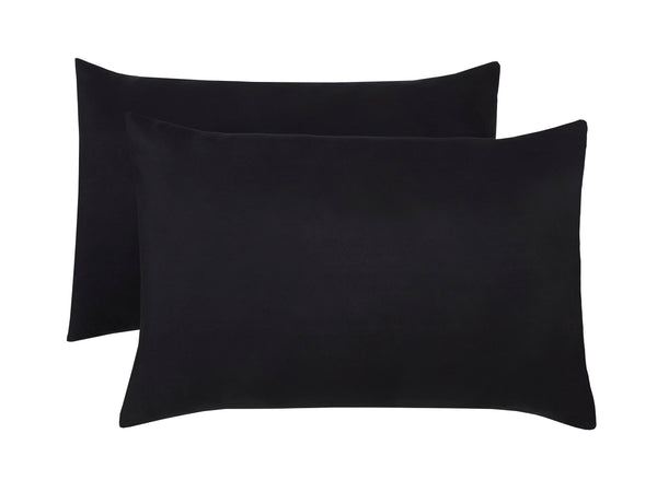 Polyester Black Pillowcase Pairs - TO CLEAR