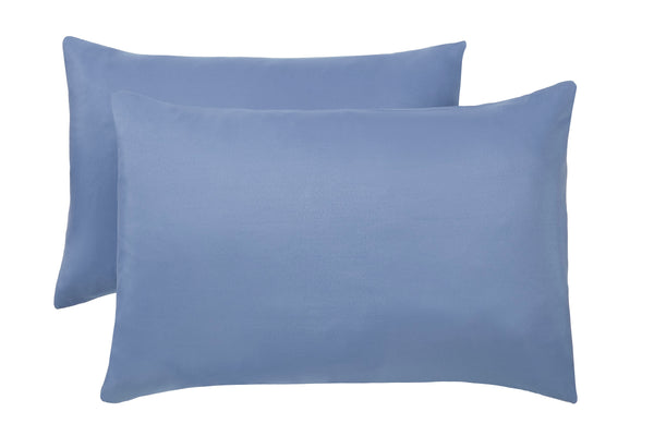 Polyester Blue Pillowcase Pairs