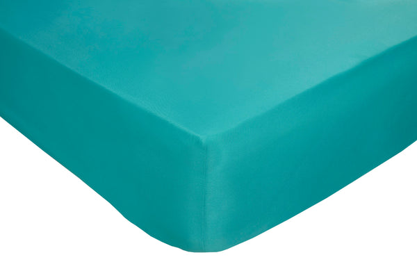 Polyester Teal Fitted Sheets