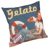 Printed Gelato Novelty Pictorial Cushion Cover - CLEARANCE PRICE