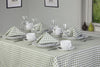 Gingham Easycare Sage Tablecloth And Napkin Package Sets