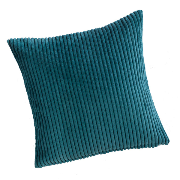 Jumbo Cord Kingfisher Blue Cushion Cover - CLEARANCE PRICE