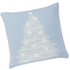 Lace Tree Christmas/Xmas Lightweight Faux Suede Cushion Cover