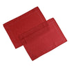 Linen Look Red Tablecloth Mega Bargain Package Sets