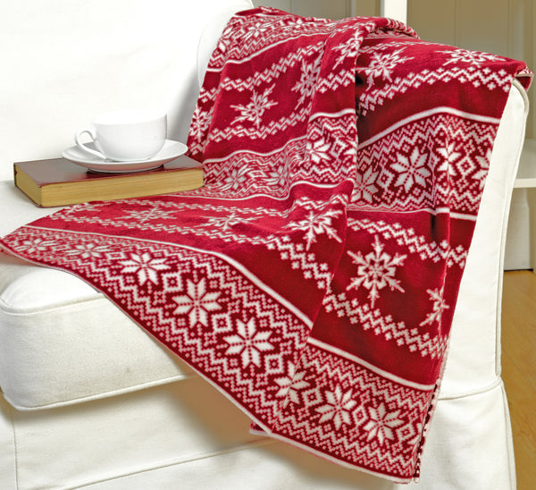 Nordic Design Christmas Throwover/Blanket