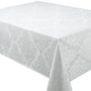 Palazzo Damask Snow White Tablecloths And Accessories