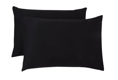 Polycotton Black Pillowcase Pairs