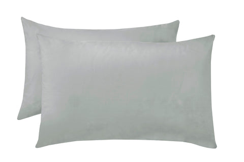 Polycotton Grey Pillowcase Pairs - TO CLEAR