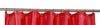 Red Shower Curtain Including 12 Rings