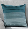 Seattle Faux Silk Teal Eyelet/Ringtop Lined Readymade Curtains