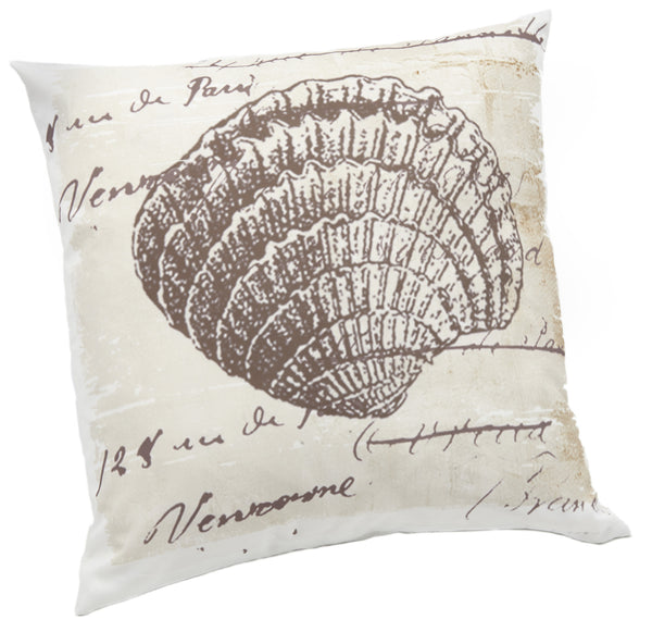 Printed Shell Novelty Pictorial Cushion Cover - CLEARANCE PRICE